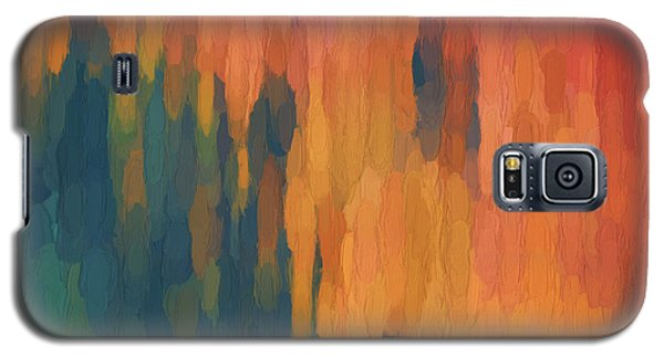 Galaxy S5 Case featuring the digital art Color Abstraction Xlix by David Gordon