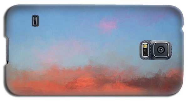 Color Abstraction Xlvii - Sunset Galaxy S5 Case