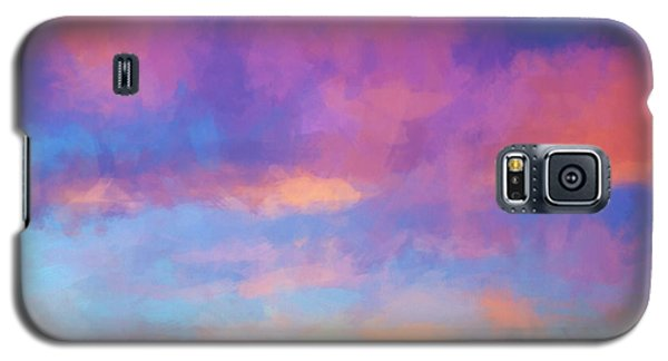Color Abstraction Xlviii - Sunset Galaxy S5 Case