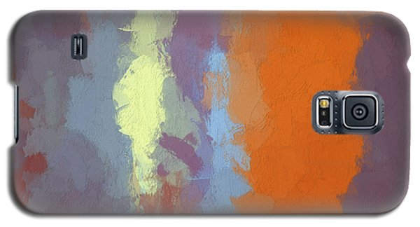 Color Abstraction Xxiii Sq Galaxy S5 Case