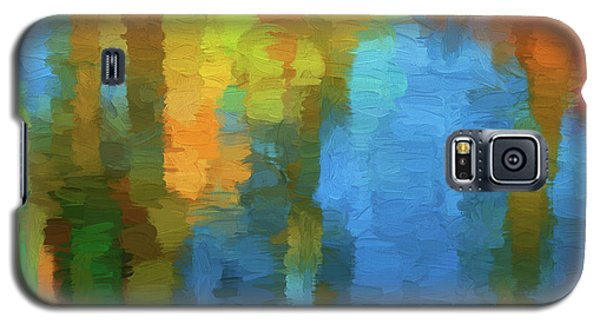 Color Abstraction Xxxi Galaxy S5 Case