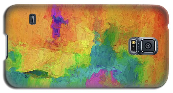 Color Abstraction Xxxiv Galaxy S5 Case
