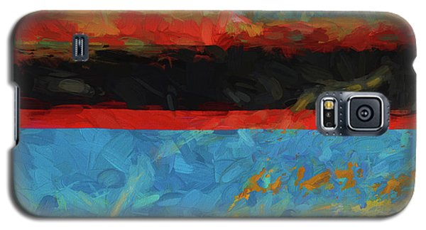 Color Abstraction Xxxix Galaxy S5 Case by David Gordon