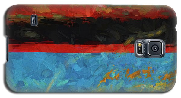 Color Abstraction Xxxix Galaxy S5 Case