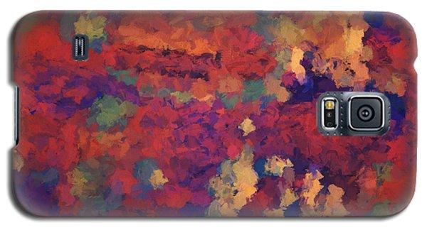 Color Abstraction Xxxv Galaxy S5 Case by David Gordon