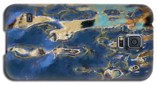 Color Abstraction Xxxvii - Painterly Galaxy S5 Case by David Gordon