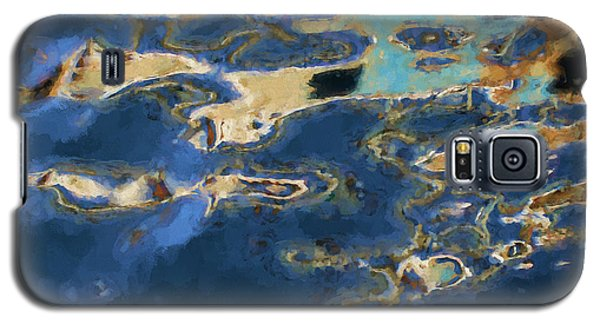 Color Abstraction Xxxvii - Painterly Galaxy S5 Case