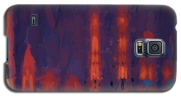 Color Abstraction Xxxviii Galaxy S5 Case by Dave Gordon