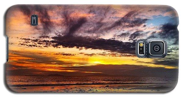 Color Burst Malibu Sunset Galaxy S5 Case