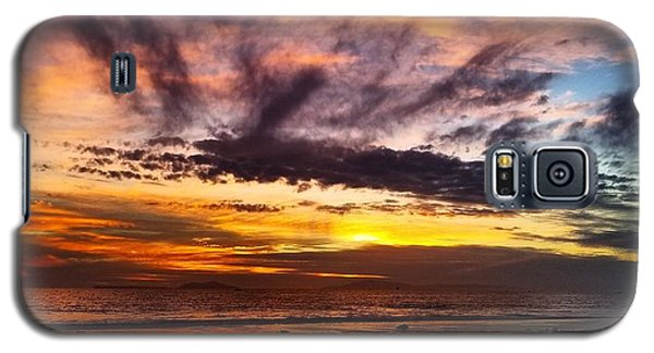 Color Burst Malibu Sunset Galaxy S5 Case