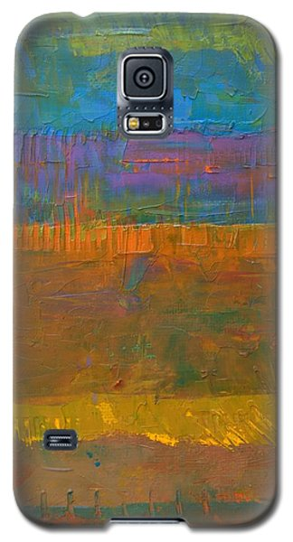 Color Collage One Galaxy S5 Case by Michelle Calkins