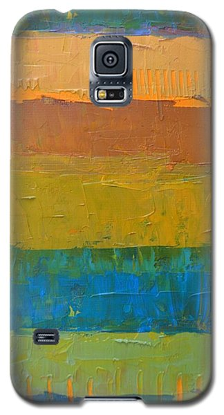 Color Collage Three Galaxy S5 Case by Michelle Calkins