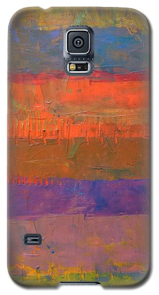 Color Collage Two Galaxy S5 Case by Michelle Calkins