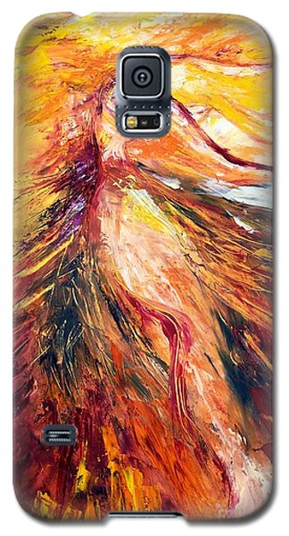 Color Dance Galaxy S5 Case by Marat Essex