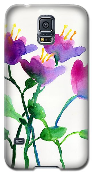 Color Flowers Galaxy S5 Case
