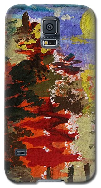 Color Forest Galaxy S5 Case by Mary Carol Williams