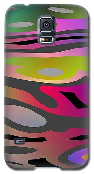 Galaxy S5 Case featuring the digital art Color Fun 1 by Jeff Iverson