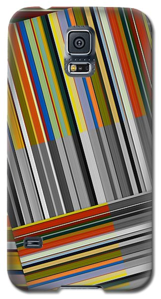 Galaxy S5 Case featuring the digital art Color In Black And White by Michelle Calkins