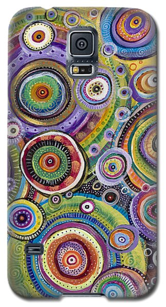 Color Me Happy Galaxy S5 Case by Tanielle Childers