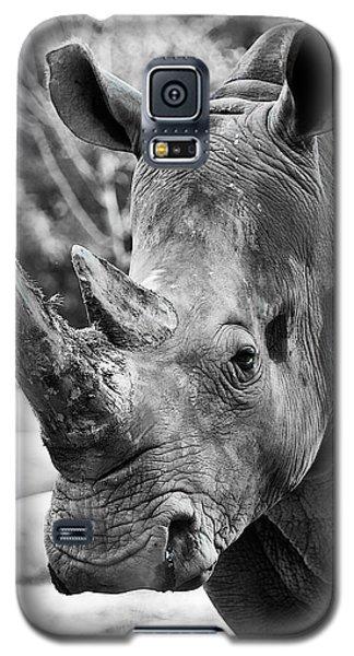 Color Me Rhino Galaxy S5 Case by John Haldane