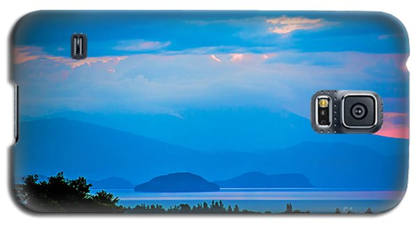 Color Over The Lake Galaxy S5 Case by Rick Bragan