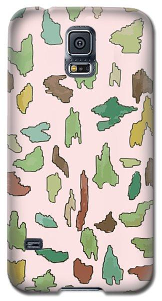 Color Pattern 3 Galaxy S5 Case