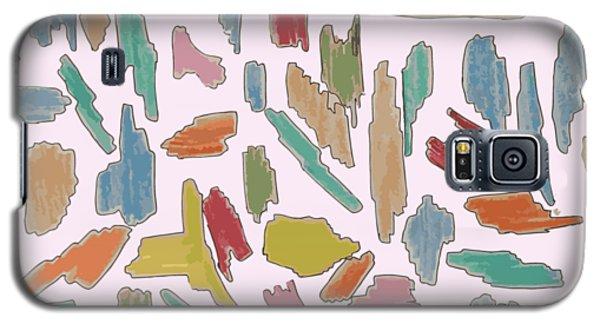 Color Pattern 5 Galaxy S5 Case