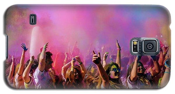 Color Sky Galaxy S5 Case