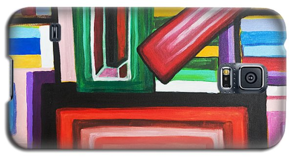 Color Squares Galaxy S5 Case by Jose Rojas