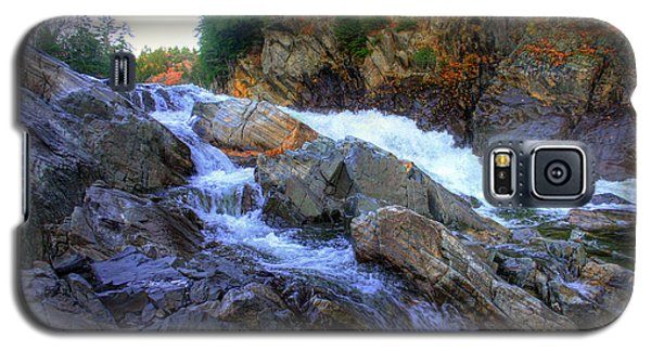 Color Steps At Livermore Falls Galaxy S5 Case