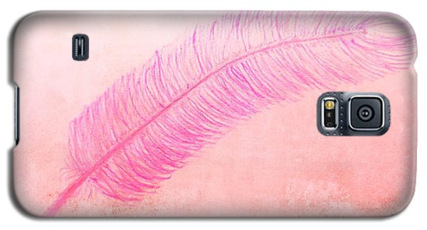 Color Trend Feather In The Wind Galaxy S5 Case