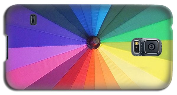 Color Wheel Galaxy S5 Case