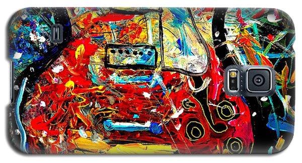 Color Wheel Guitar Galaxy S5 Case