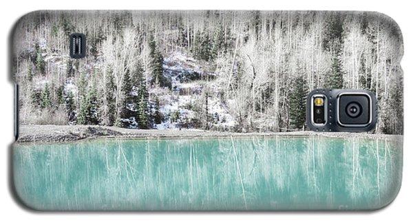 Colorado Aqua Woodland Forest Landscape Galaxy S5 Case by Andrea Hazel Ihlefeld