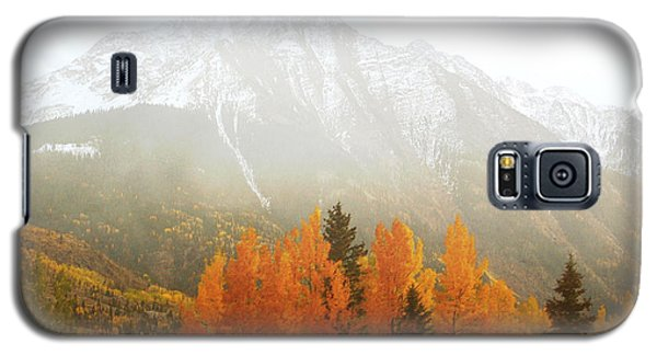 Colorado Aspen Trees Mountain Dreamy Landscape Galaxy S5 Case by Andrea Hazel Ihlefeld