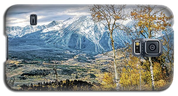 Galaxy S5 Case featuring the photograph Colorado Autumn by Jim Hill