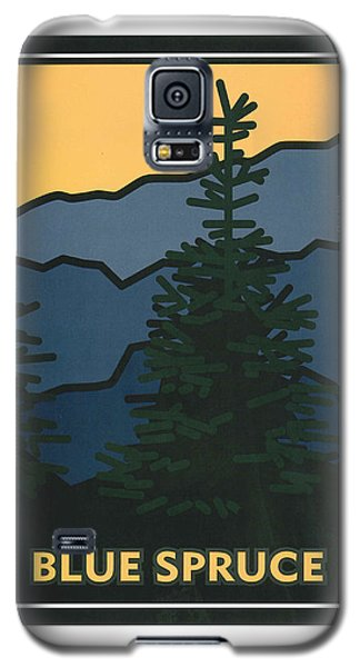 Colorado Blue Spruce Galaxy S5 Case