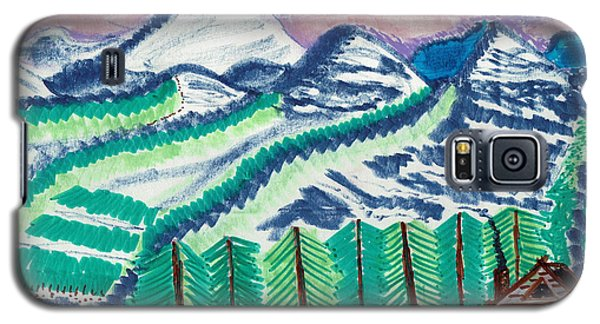 Colorado Cabin Galaxy S5 Case