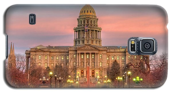 Galaxy S5 Case featuring the photograph Colorado Capital by Gary Lengyel