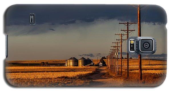 Colorado Farm Sunset Galaxy S5 Case