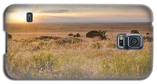 Colorado Field Sunset Landscape Galaxy S5 Case by Andrea Hazel Ihlefeld