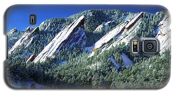 All Fivecolorado Flatirons Galaxy S5 Case by Marilyn Hunt