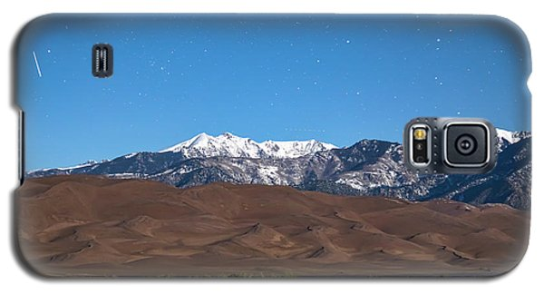 Colorado Great Sand Dunes With Falling Star Galaxy S5 Case by James BO Insogna