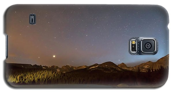 Galaxy S5 Case featuring the photograph Colorado Indian Peaks Stellar Night by James BO Insogna