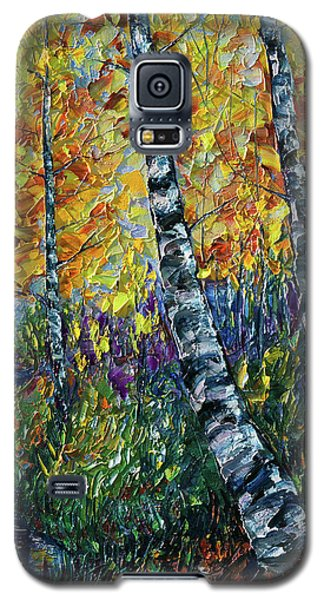 Glimpses Of Colorado Fall Colors Galaxy S5 Case