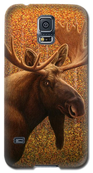 Colorado Moose Galaxy S5 Case by James W Johnson