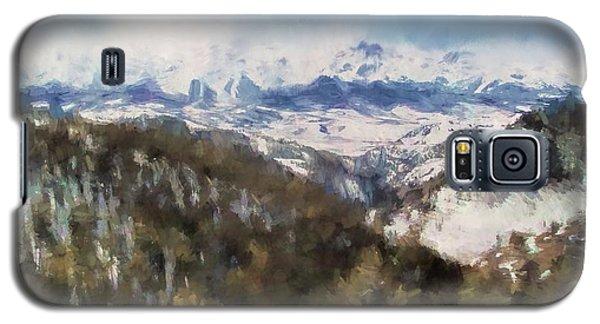 Colorado Mountains 4 Landscape Art By Jai Johnson Galaxy S5 Case