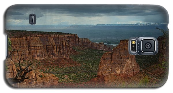 Colorado National Monument Storm National Park Galaxy S5 Case