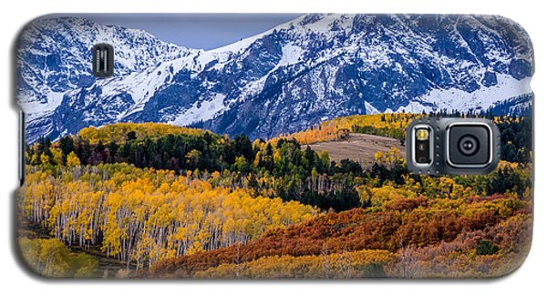 Colorado Rockies In The Fall - Ridgway Galaxy S5 Case by Gary Whitton