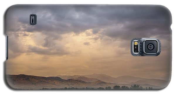 Galaxy S5 Case featuring the photograph Colorado Rocky Mountain Foothills Storms by James BO Insogna
